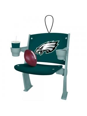 Philadelphia Eagles Stadium Chair Ornament