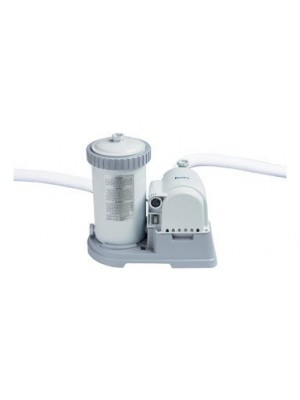 Intex Krystal Clear Cartridge Filter Pump for Above Ground Pools, 2500 GPH Pump Flow Rate, 110-120V with GFCI