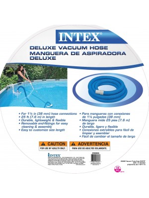 Intex 1-1/2-Inch Spiral Hose for Pool Filters, 25-Feet