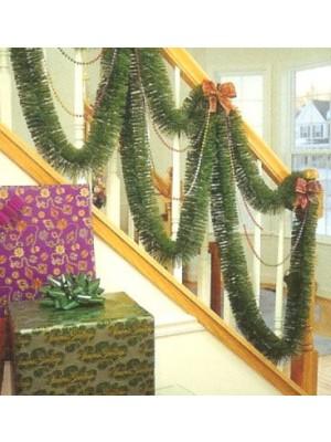 30' Green Mountain Pine Artificial Christmas Garland - Unlit