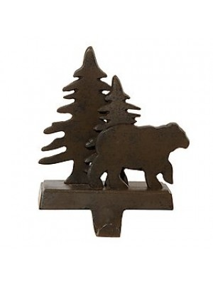 Park Designs Bear and Tree Stocking Hanger