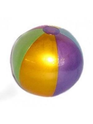 18in Metalic Beach Ball 1 Dozen [Misc.]