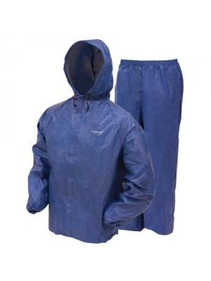 Frogg Toggs Men's Ultra Lite Rain Suit, Blue, Small