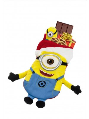 Kurt Adler Despicable Me Minion Plush Stocking #DE7141