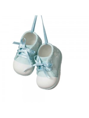 Baby Boy Shoes Ornament